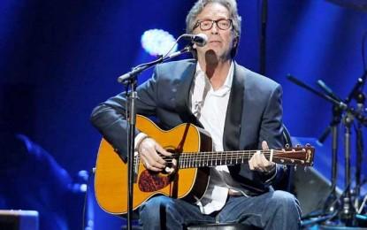 Eric Clapton celebra seus 70 anos com dois shows em Nova York