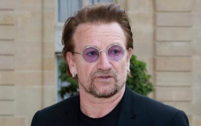 Bono Vox escreve música para o povo italiano e equipes médicas que enfrentam o coronavírus